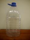 ПЭТ бутылка 5,0 л (квадратная, горло 38мм)